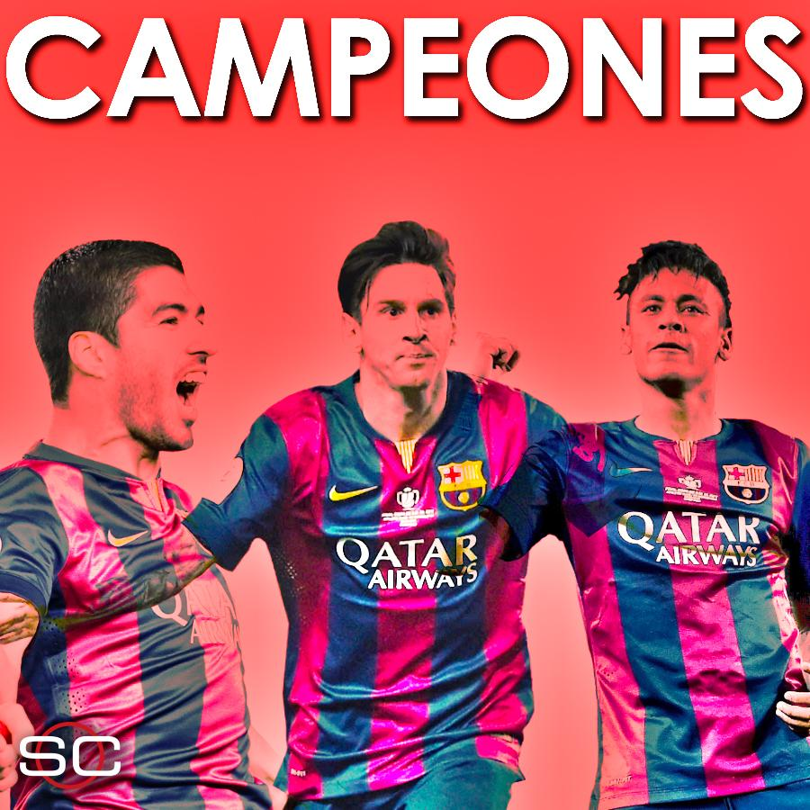 ¡VISCA BARCA!   Barcelona is crowned La Liga champions for the 24th time!