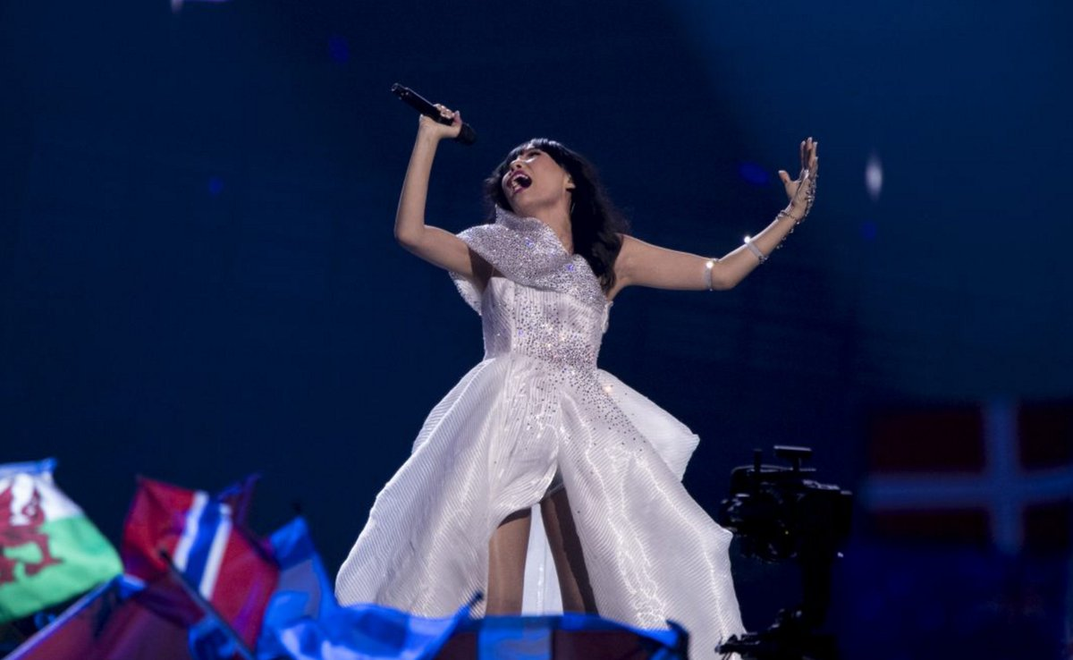 Congrats @damiandmusic!! 2nd place in the world's biggest song contest!!! AMAZING. #Eurovision #SBSEurovision https://t.co/MbN3Q6HT27