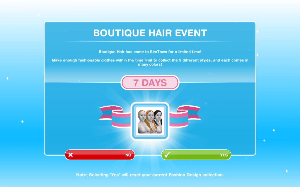 The Girl Who Games On Twitter The Sims Freeplay Boutique Hair Event Https T Co 56lydfvbaw