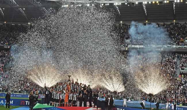 Juventus festeggia lo scudetto con 5 gol alla Sampdoria
