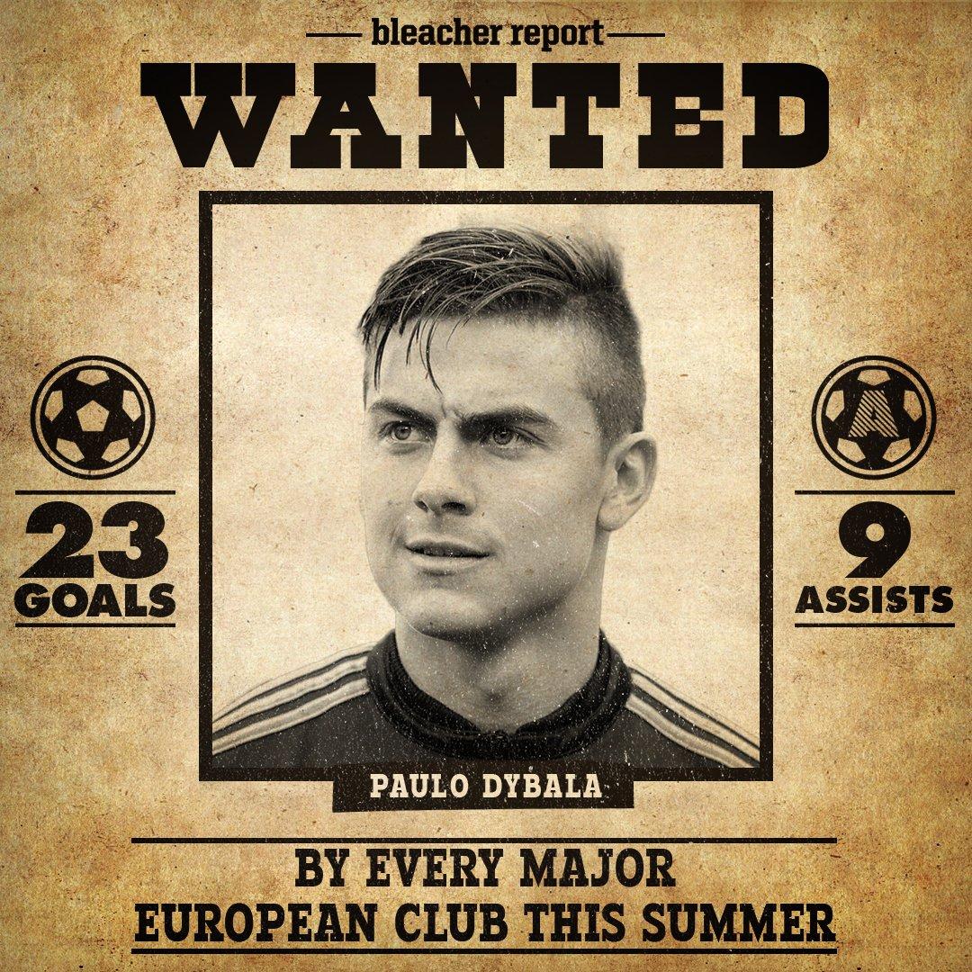 Paulo Dybala's first season at Juventus: 23 goals 9 assists #wanted
