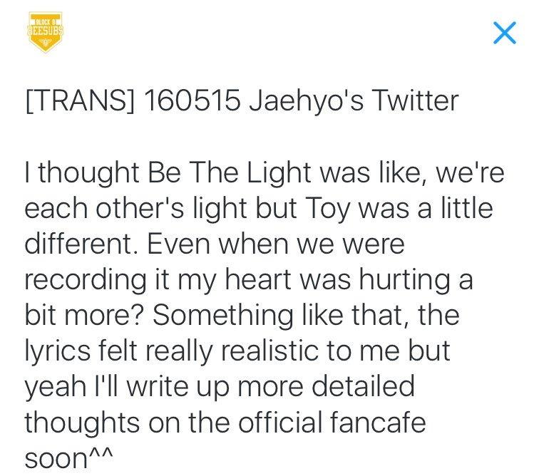 Lyric lyrics to something : Block B's Emotional Lyrics to Fans [Block B Toy vs. Be The Light ...