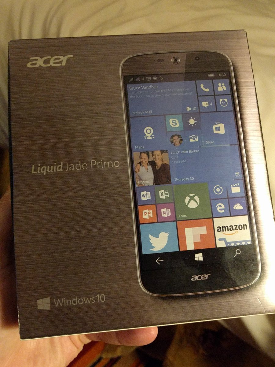 Windows 10 Mobile is still alive.... #Windows10Mobile https://t.co/0TD5b4JQPl