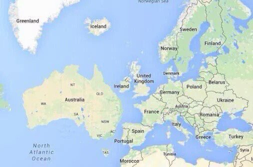 Ah, it becomes clear #Australia #Europe #bbceurovision