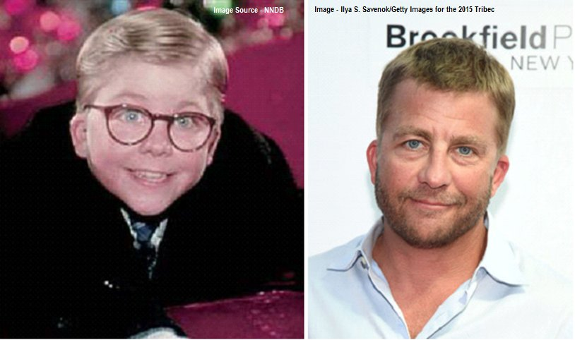 where are they now on twitter peter billingsley 45 ralphie a christmas story now a movie producer also brief appearance in ironman 08 - Christmas Story Cast Then And Now