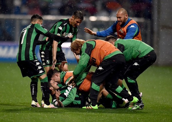 Sassuolo batte Inter 3-1 ed è 6° posto in classifica per l'Europa League
