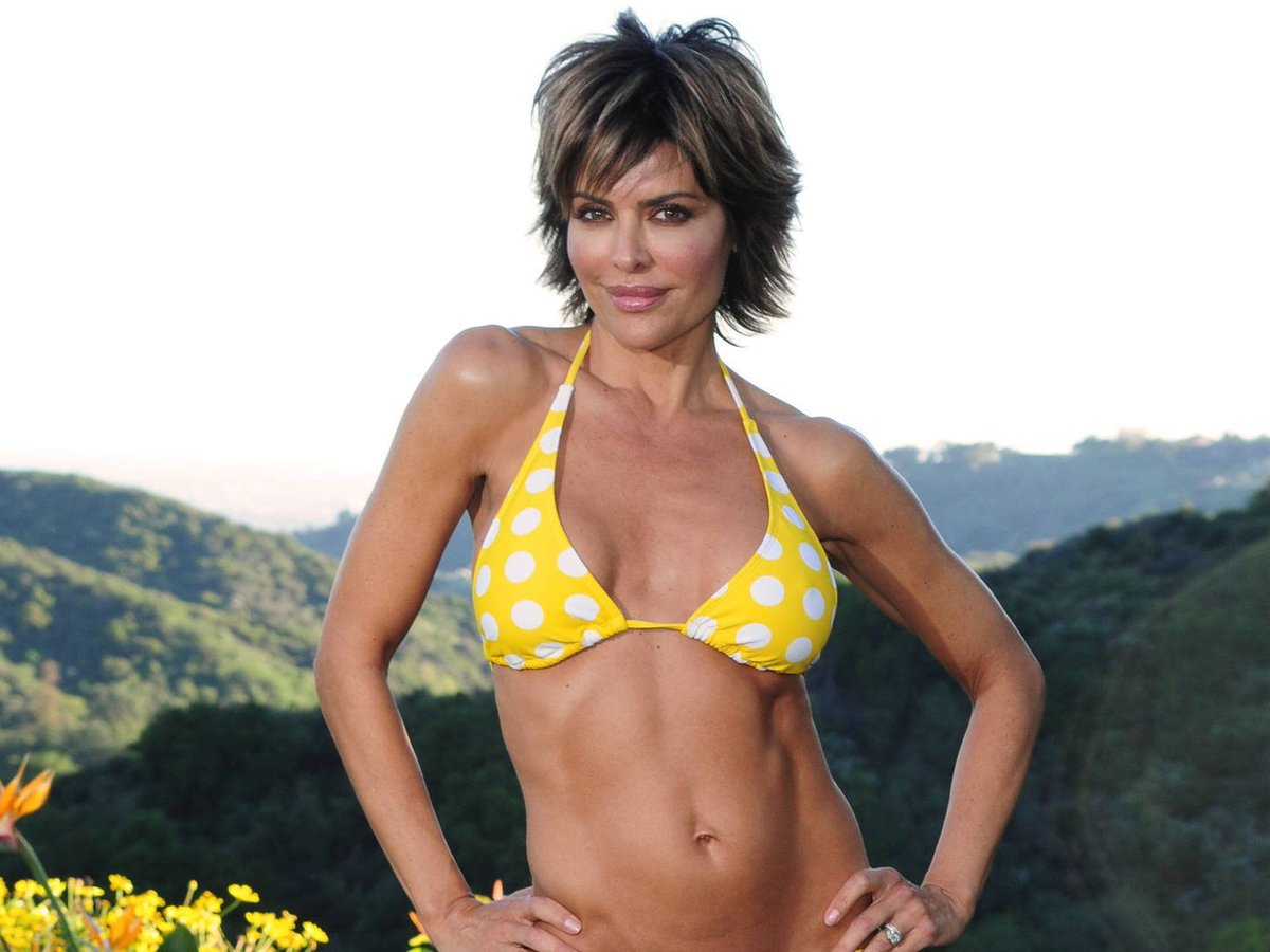 All Lisa rinna hot agree, this