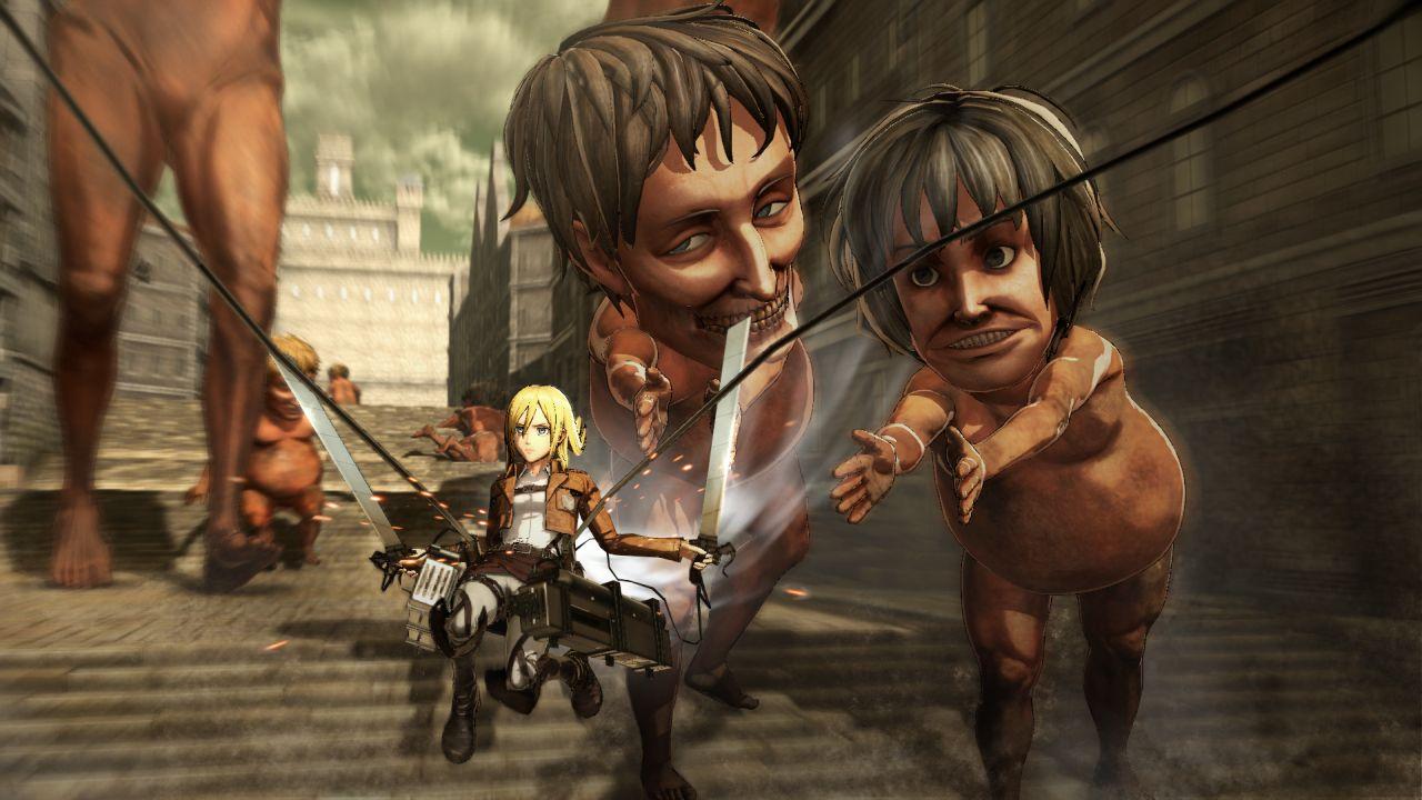Attack on Titan Battle Footage, Pre-Order Bonuses & More Revealed 3