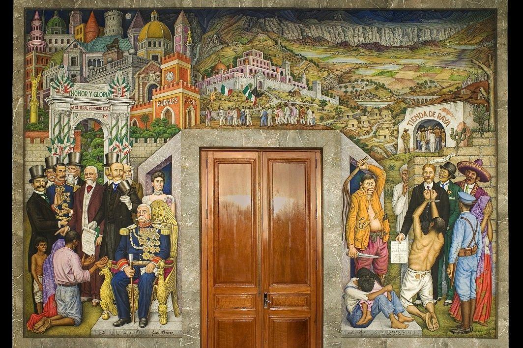 Castillo chapultepec on twitter temostramos el mural for Mural de juan o gorman