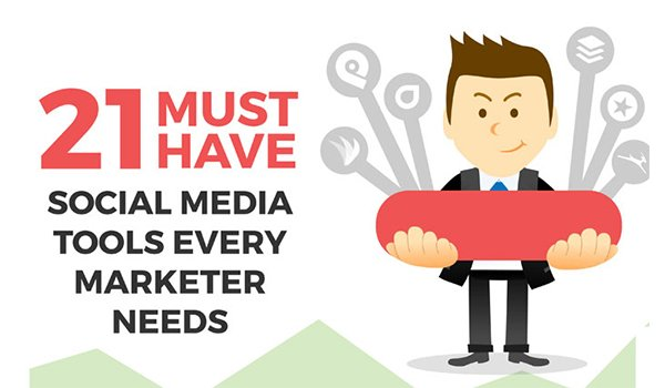 21 Must Have Tools Your Social Media #Marketing Strategy Needs:  https://t.co/mfiI9fON2I  #SocialMedia https://t.co/rDbvBLKBIS