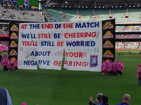 Today's banner. #AFLDeesDogs https://t.co/tGjrfHpMZE