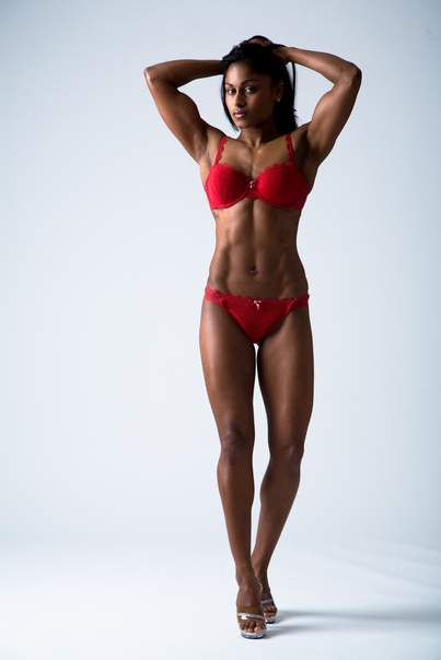 Fit black women body idea