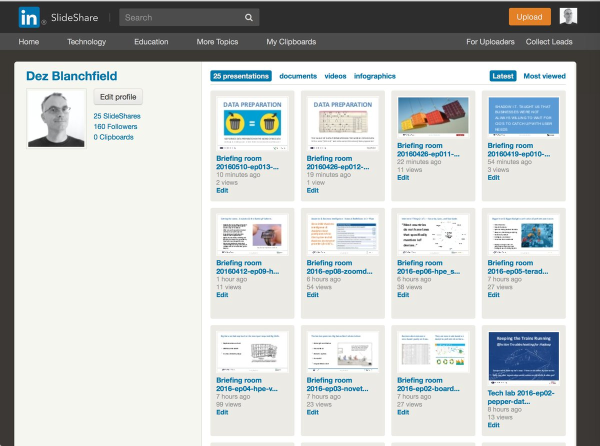Dez Blanchfield's Presentations on SlideShare