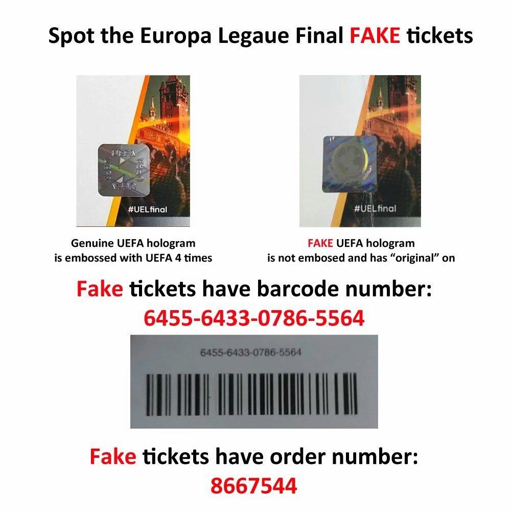 Europa League Finale Tickets