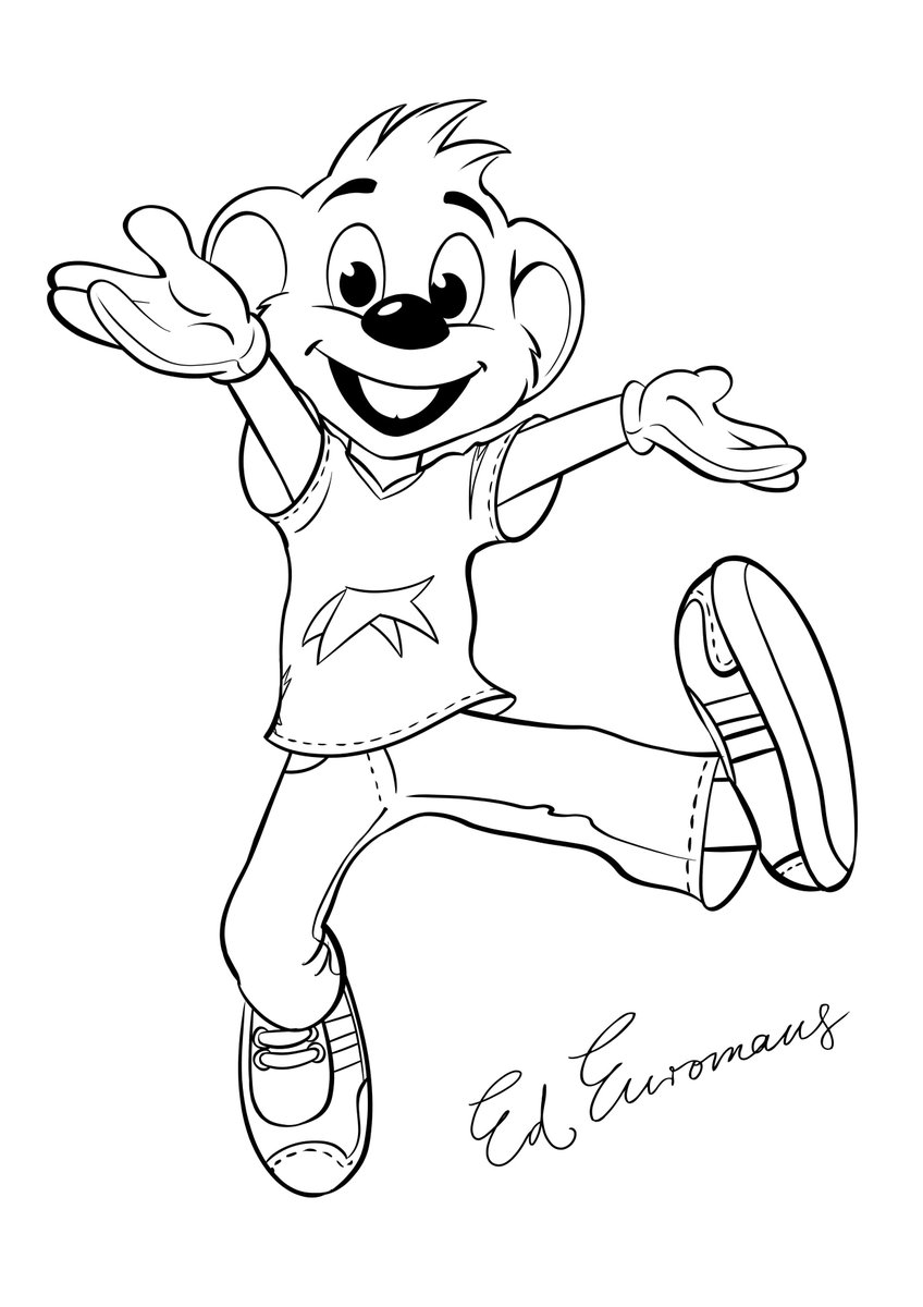 Europa Park UK On Twitter Little Ed Euromaus Fans Will Love Our Fun EuropaPark Printable Kids Colouring Sheet Family Weekend Activities