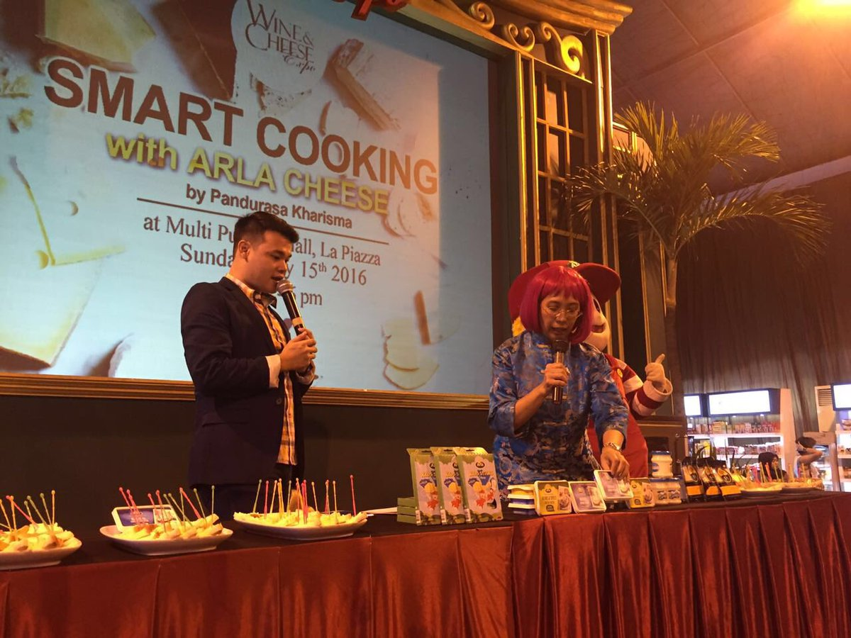Wonderful Culinary Expo On Twitter Now Smart Cooking With Arla Cheese By Pandurasa Kharisma At Multi Purpose Hall La Piazza Wce2016