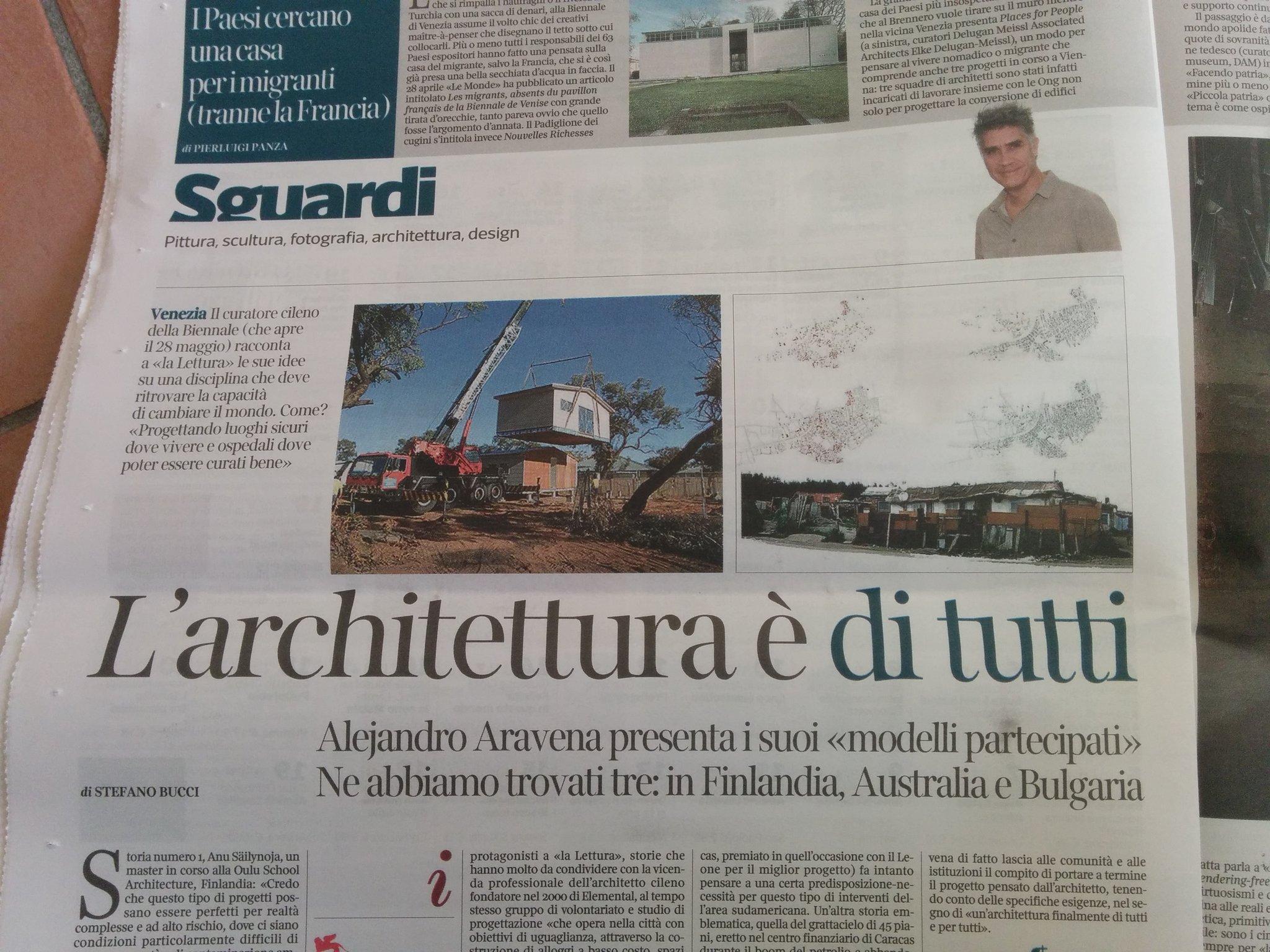 """Lavorare In Australia Come Architetto flaviano zandonai on twitter: """"#aravena curatore"""