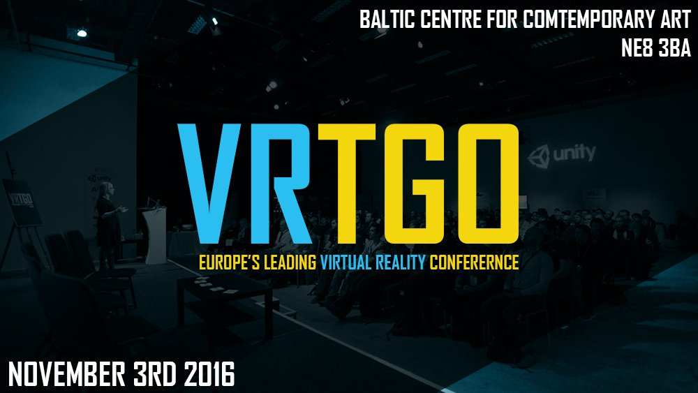 Buy tickets « VRTGO Conference