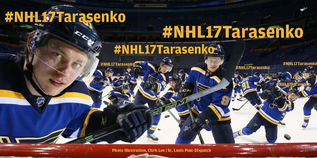 Antsy for #stlblues game? Spend your time tweeting #NHL17Tarasenko. Voting ends noon Monday https://t.co/6lePgbLrTN https://t.co/b5L4Rvh3BE
