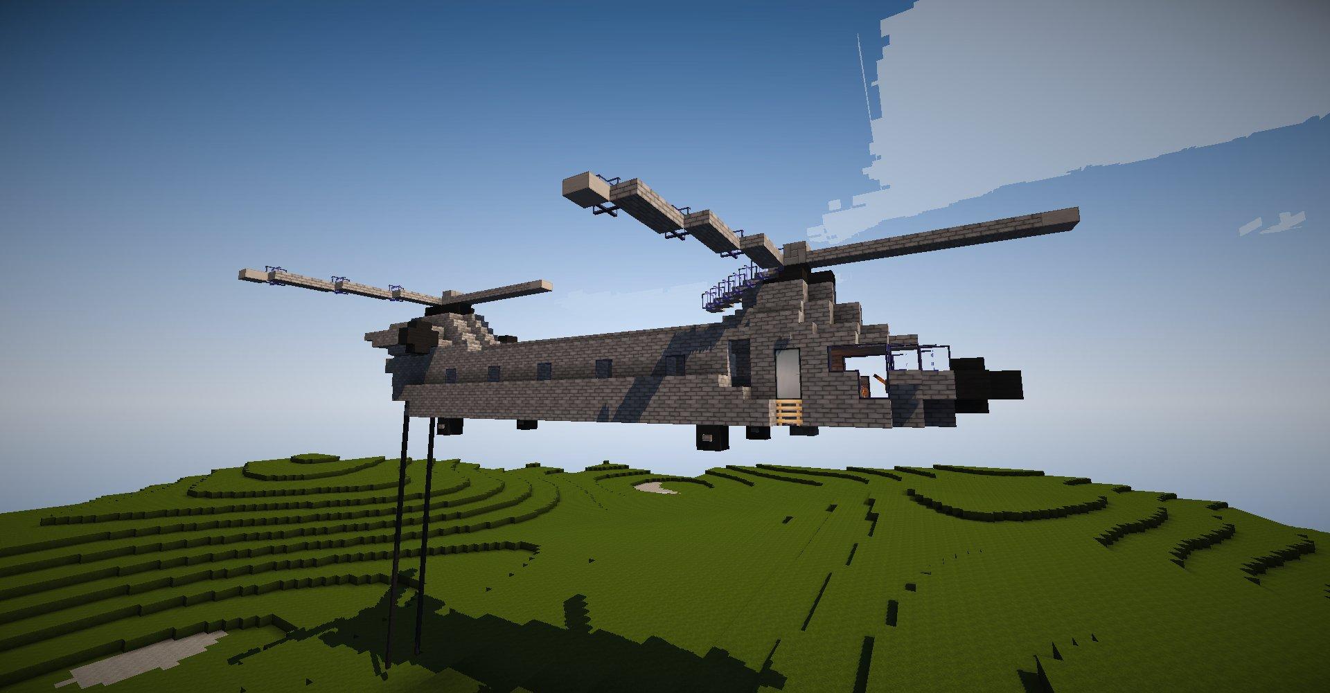 ヘリコプター マイクラ