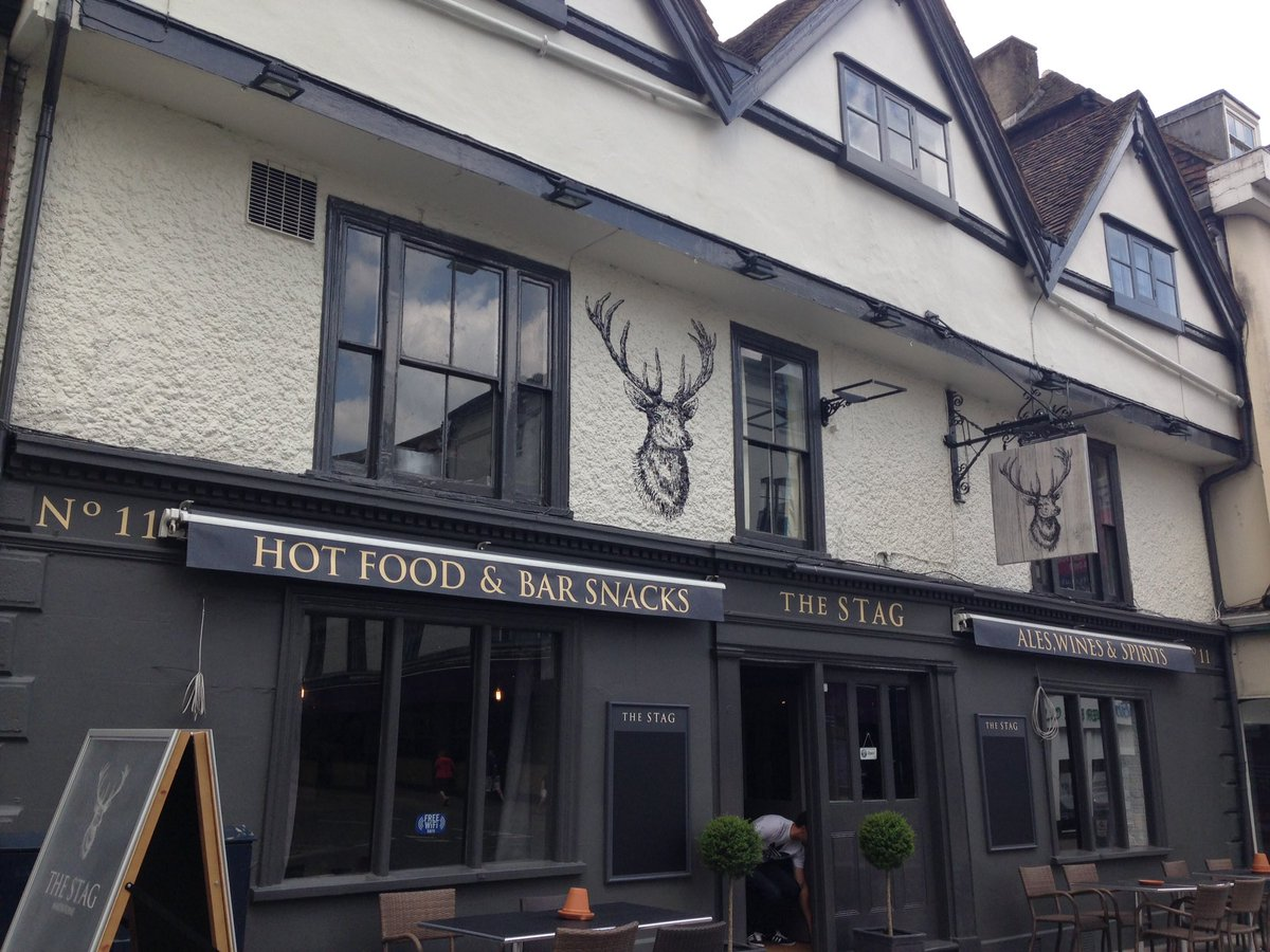 The Stag Maidstone >> One Maidstone On Twitter New To Maidstone The Stag Pub