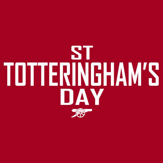 Wishing you all a very Happy St Totteringham's Day...! https://t.co/gW49rdLuH9