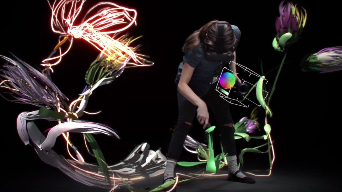 Google's Tilt Brush Is Your Paintbrush for Virtual Reality