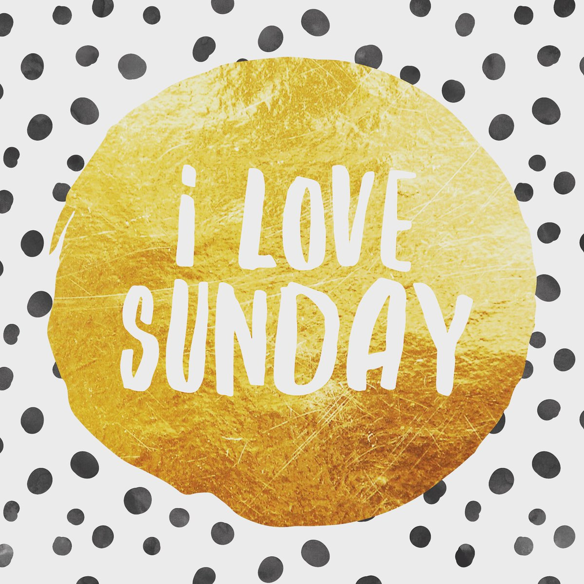 sunday is my favorite day of the week