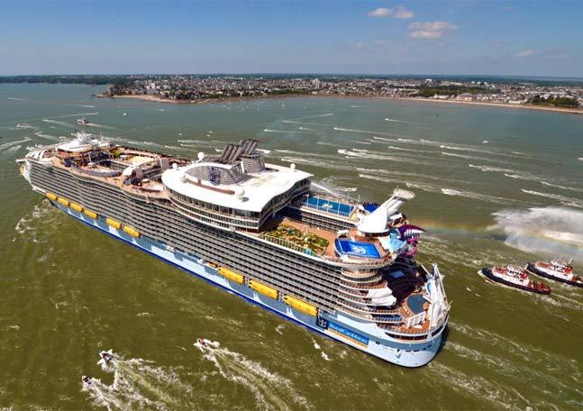 La nave da crociera pi grande del mondo harmony of the for Quali cabine sono disponibili sulle navi da crociera