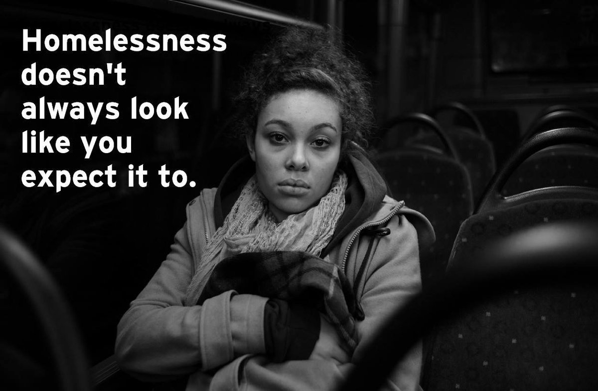 A huge percentage of homeless young people aren't necessarily sleeping on the streets - they're the hidden homeless. https://t.co/Pu6fOcGX45