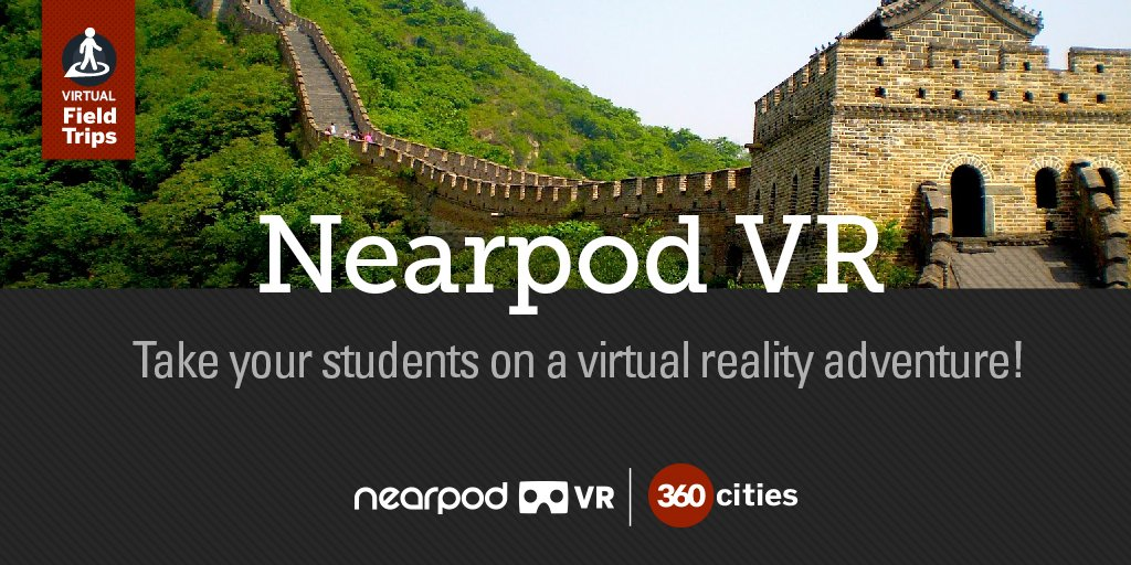 Take your students on a virtual reality adventure right from your classroom