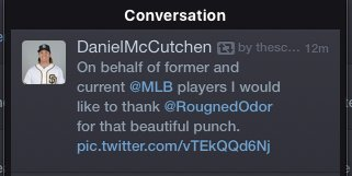 """Tweet since deleted. Quite the Christian attitude from the guy whose bio says """"Good friends with Jesus"""". #BlueJays https://t.co/pOMou7HF7S"""