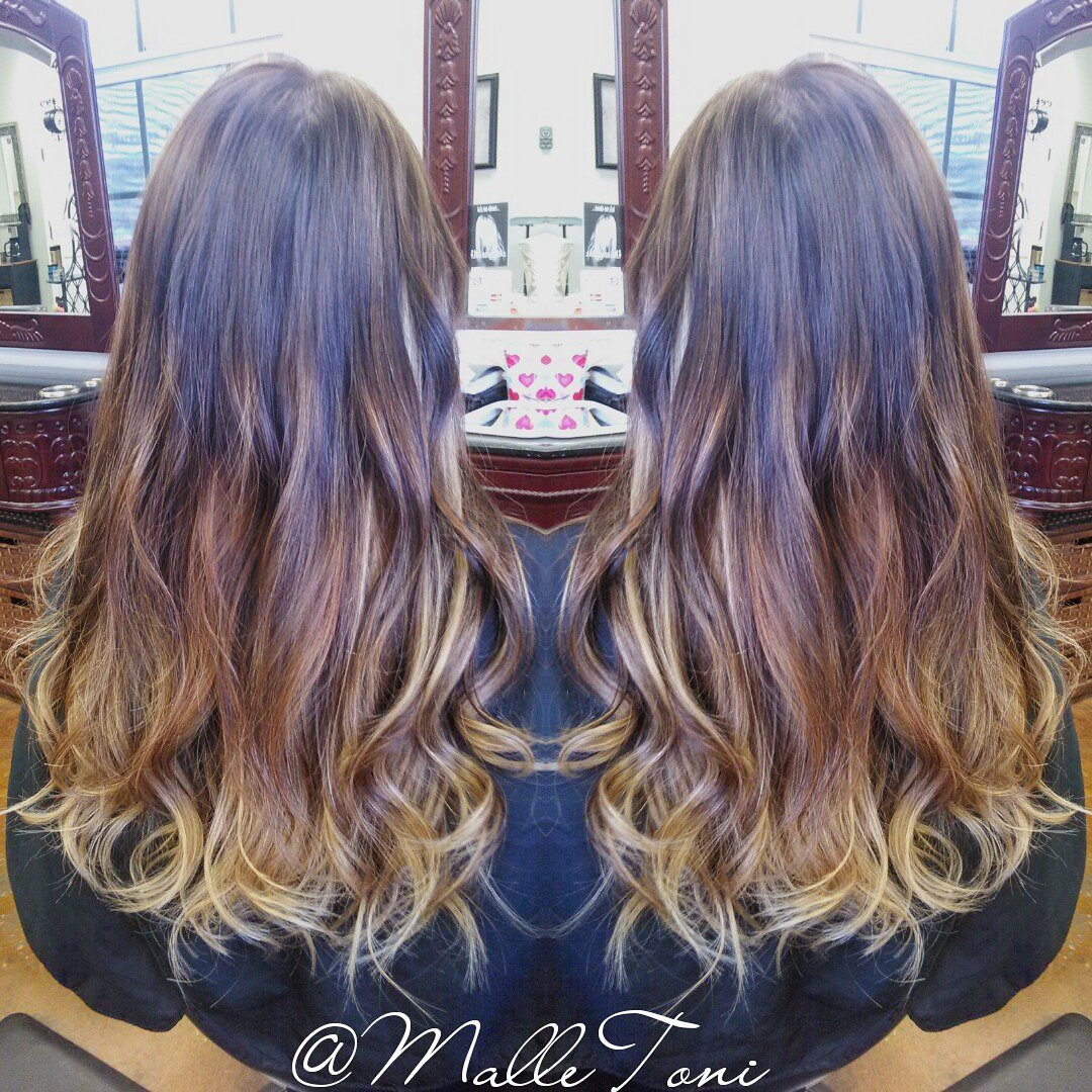 Toni My Hair Zone On Twitter Ombre Hair Done With 200 Pcs Of Fn