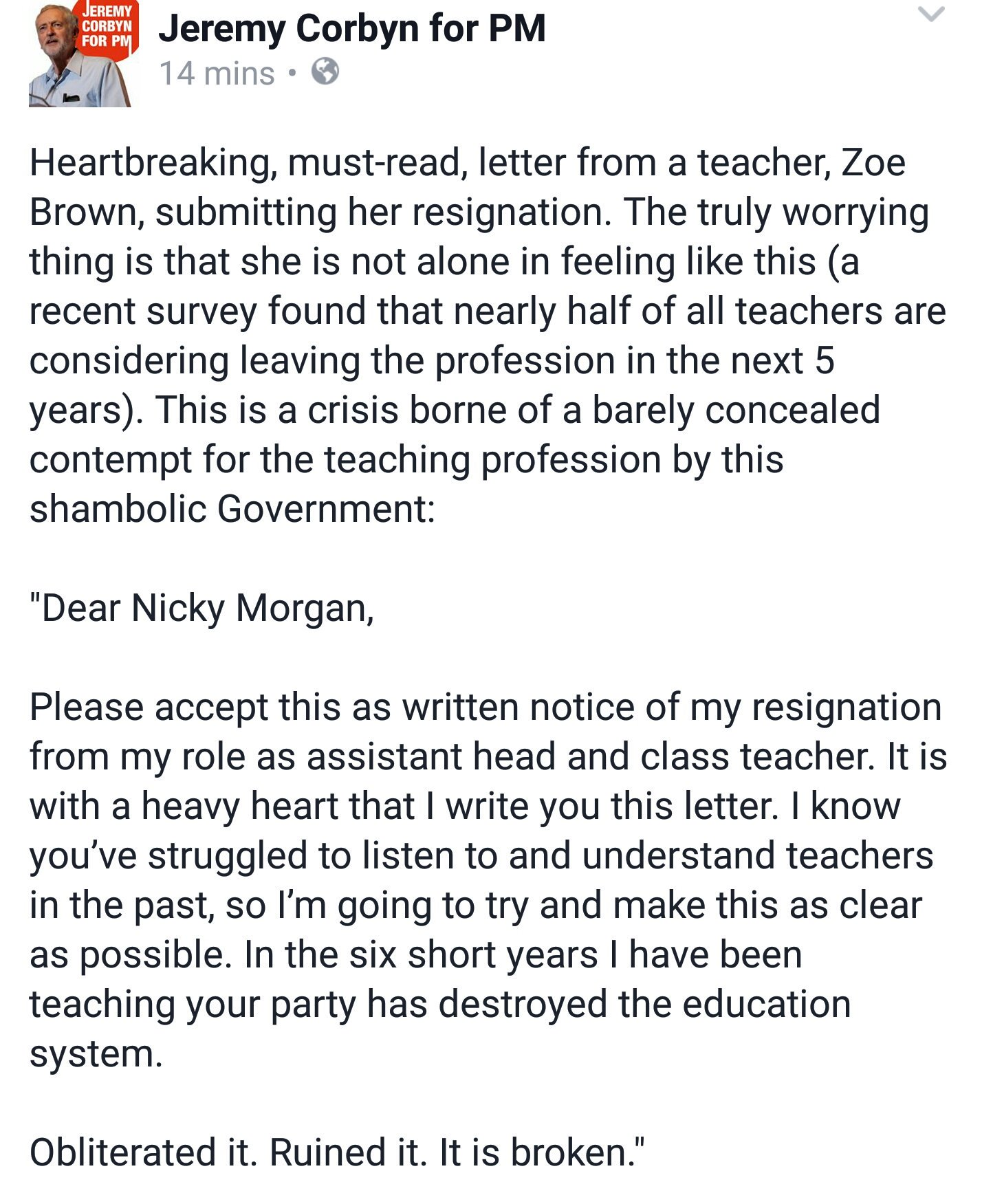 Letter Of Resignation For Teaching from pbs.twimg.com