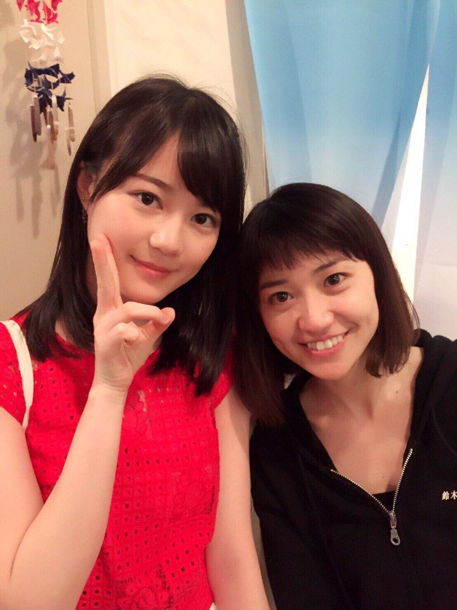 乃木坂46の生田絵梨花さんと大島優子