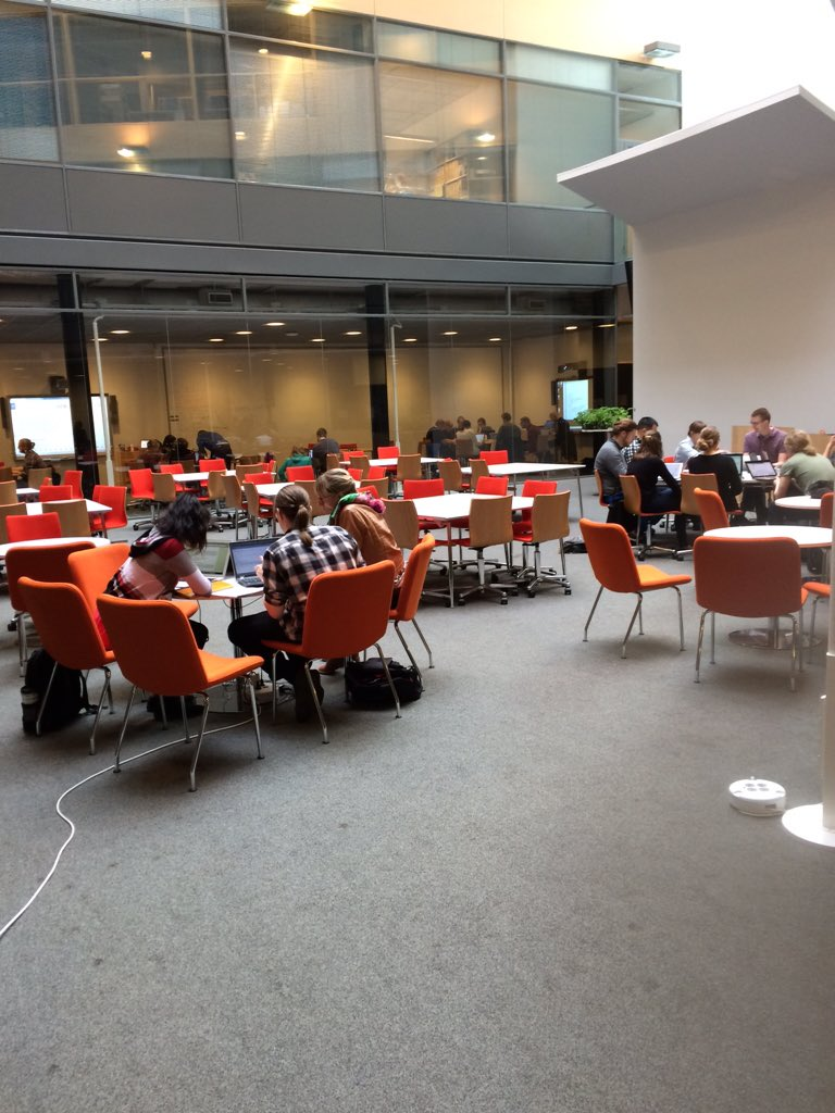 #dhh16 digital humanities hackathon is on! Come & check out the results Friday 20 May:  https://t.co/0HAbBChrGe https://t.co/xTEYa8ppMC