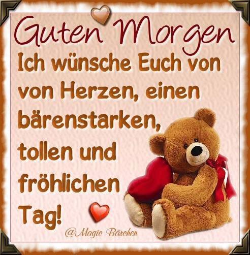 Monika Bassani ن Twitterissä Guten Morgen Mein Schatz