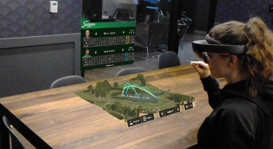 Taqtile's PGA Golf Tour HoloLens Demo