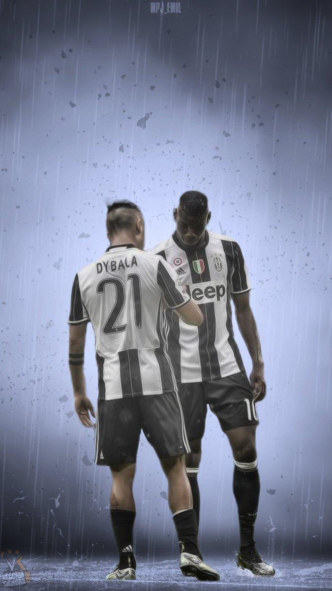 Juve Edits On Twitter Dybala And Pogba Mobile Wallpaper