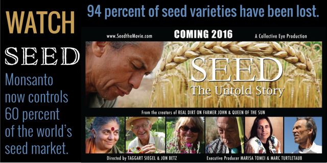 """As corporate greed creates a seed famine, more people realize they need to have their own seed."" @drvandanashiva https://t.co/T5A1bfNyhy"