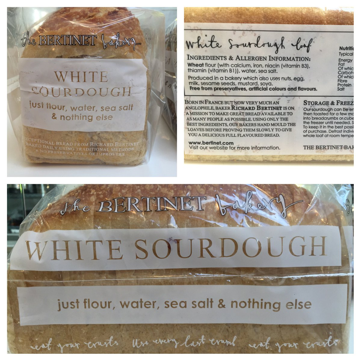 "Launching today in @waitrose our new ""every day artisan"" breads; our great #sourdough in tin. #RealBreadWeek https://t.co/KP7Yxsn43p"