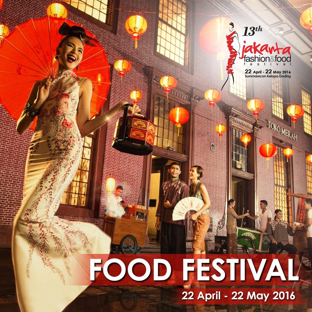 Nikmati kuliner tanah air & mancanegara di Food Festival #JFFF2016. Info: https://t.co/8QihiIPf2Q / @JFFF_Info https://t.co/8Y2qjZqq0X
