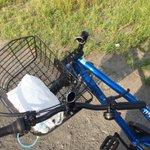 新しい自転車を買ったらハンドルが真っ二つ!怖すぎるのに笑える