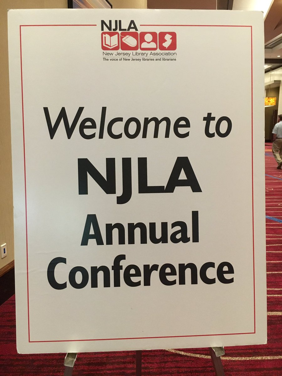 Welcome, it's official!  #njla16 https://t.co/ac8zKwNpfI