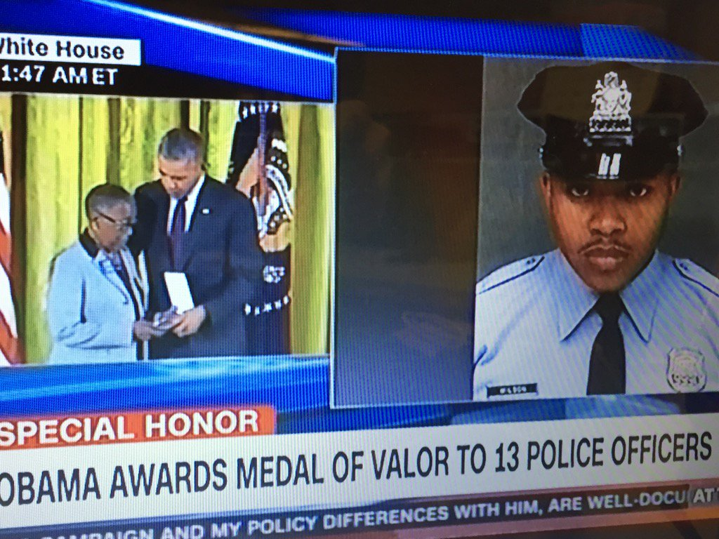 Officer honored for sacrificing his life during robbery