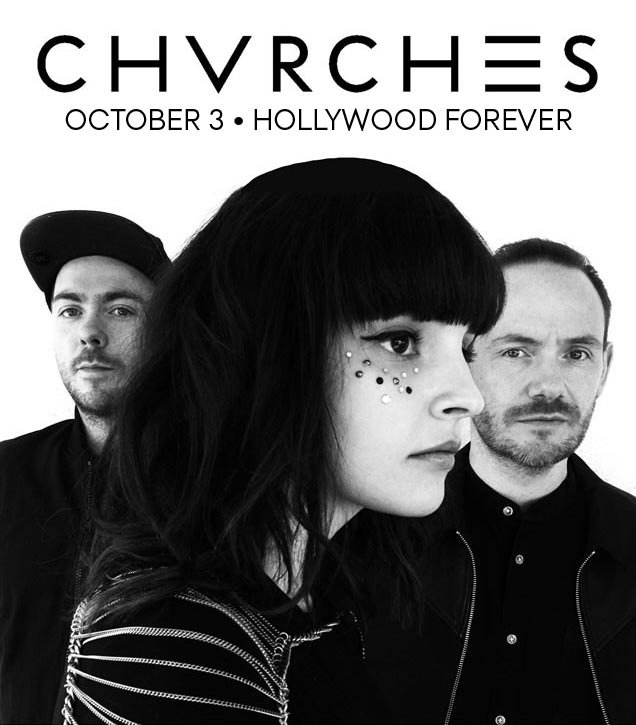 CHVRCHES outdoors on The Fairbanks Lawn - 10.3.16 - $39.50 ON SALE FRI 9AM PDT at https://t.co/F6zFk3o8VW @CHVRCHES https://t.co/3wK56ascMl