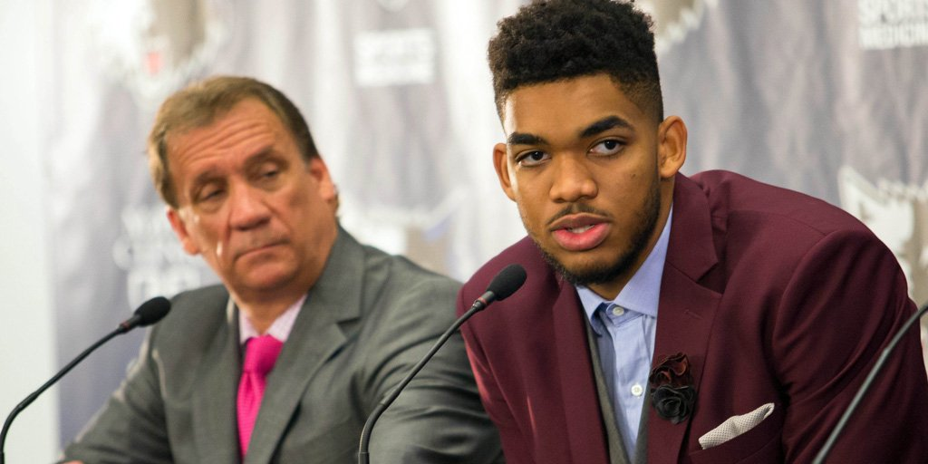 Karl Anthony Towns To Wear Flip Saunders Wedding Ring Around His Neck At Draft