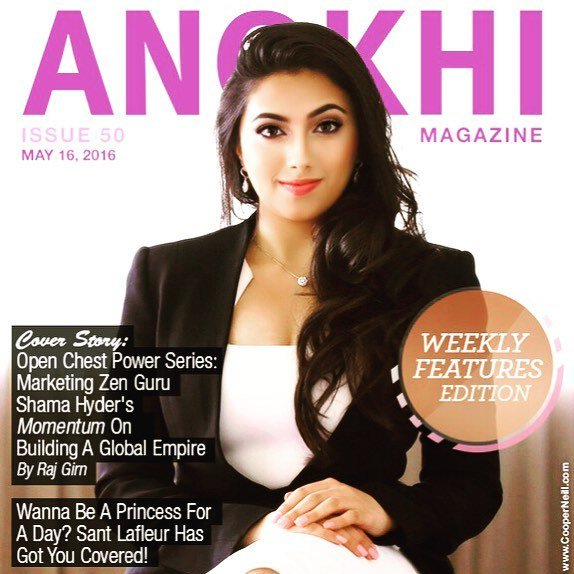 A lovely start to the week! Thank you, Anokhi for having me on your cover - and for celebrating #entrepreneurship a… https://t.co/mvAiOlspMR