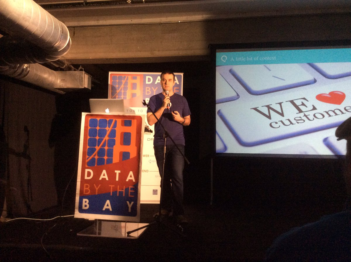 Listening to Vitaly Gordon @BigDataSc at @databythebay #DataGrid @salesforceiq https://t.co/Ww5ofDbXVd