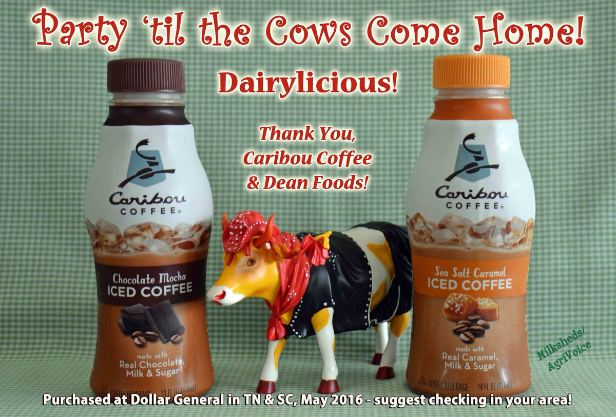 DAIRYLICIOUS!  THANKS - @deanfoods @Caribou_Coffee 4 the 1derful treat now in southeast! #DairyInnovation! @agmoos https://t.co/5H1sMYVX2y